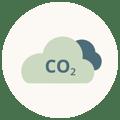 CO2 Bilanz Icon