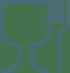 Glas-Gabel-Symbol