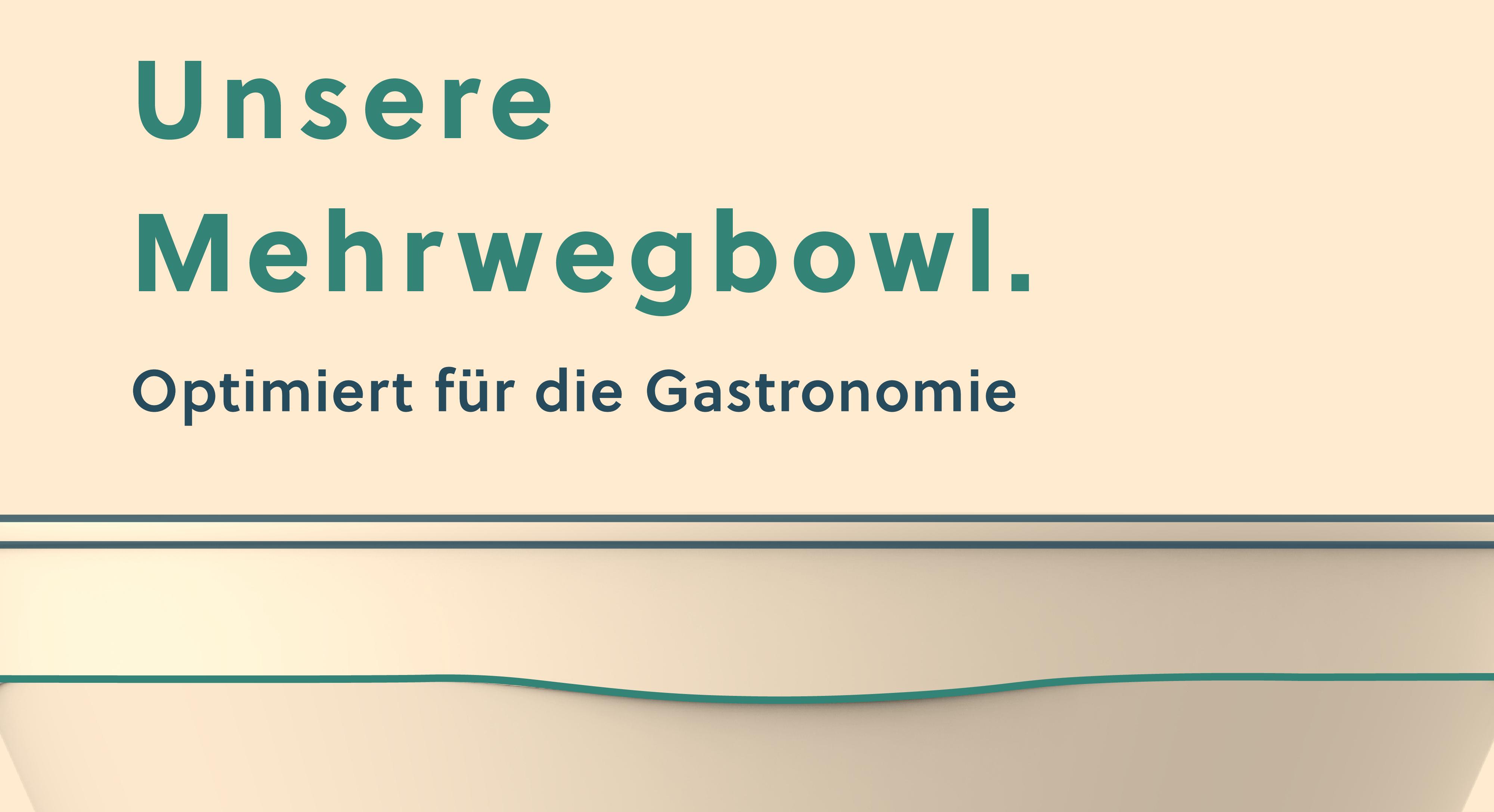 CF Mehrwegbowl - optimiert für die Gastronomie