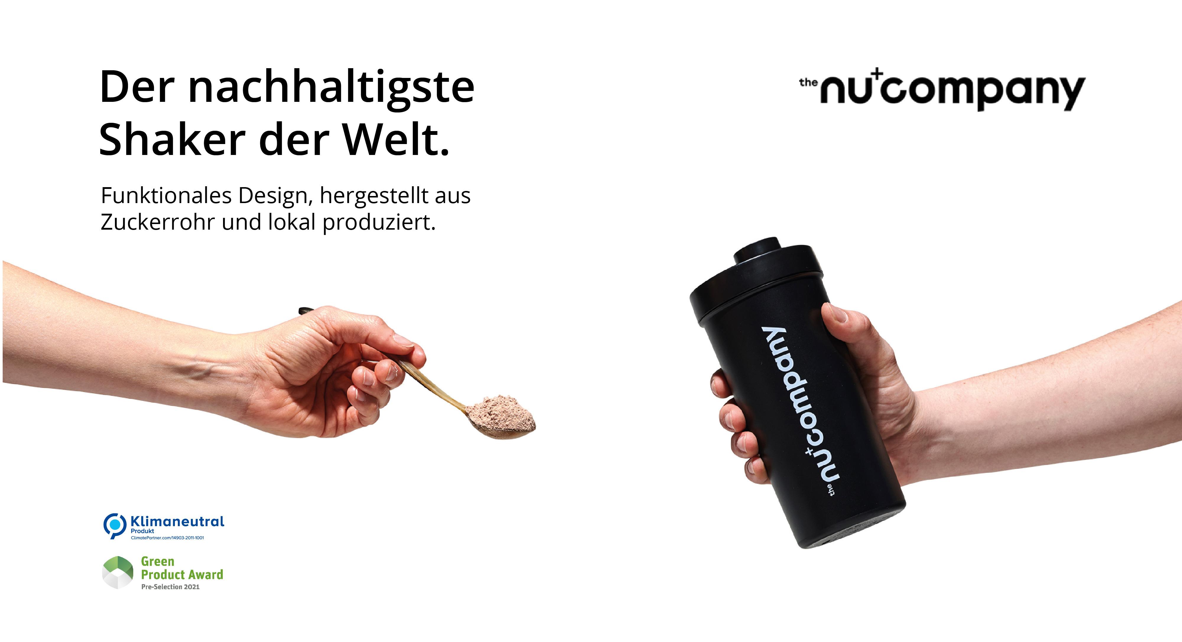 Der nachhaltigste Shaker der Welt
