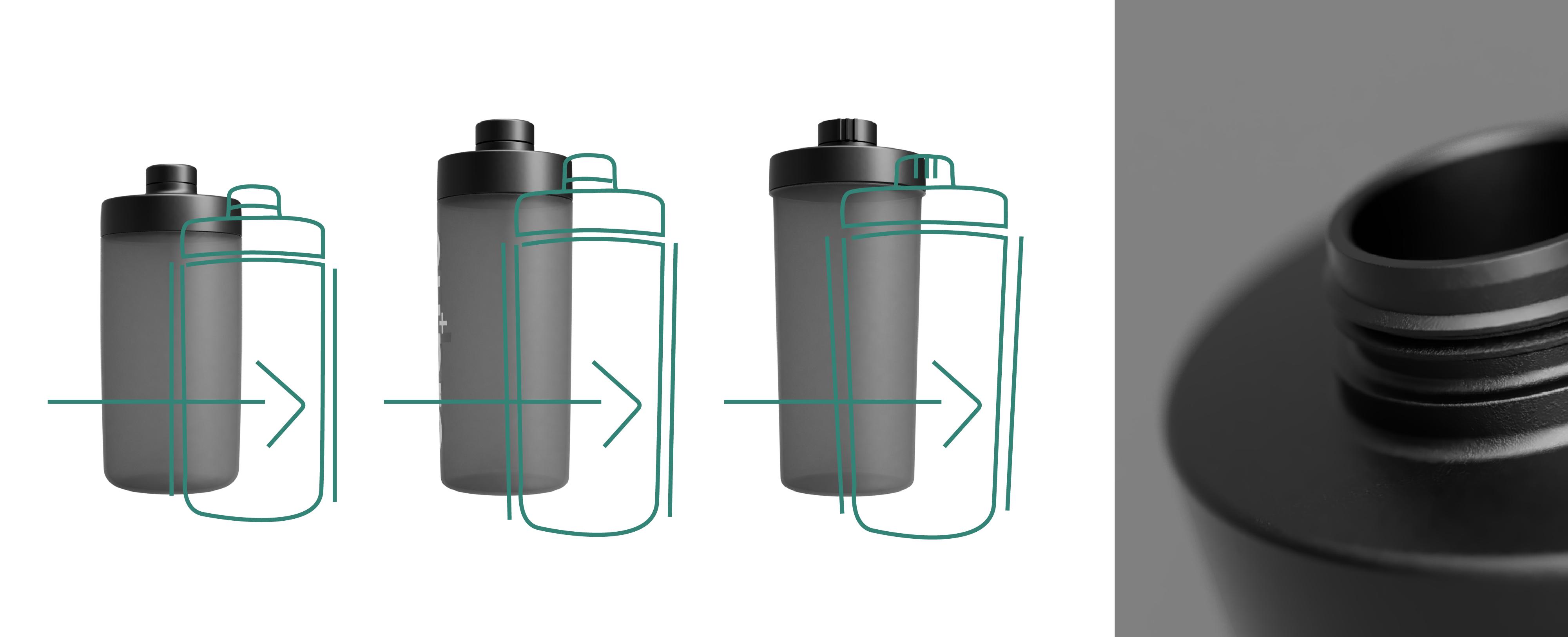 Optimierung im Designprozess bei der Produktentwicklung des Shakers